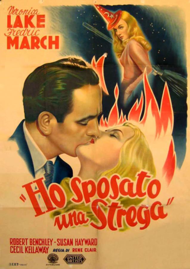 Risultati immagini per ho sposato una strega film 1942